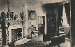 Family Dining Room, Mount Vernon Mansion Postcard