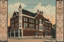 Quincy Labor Temple Postcard