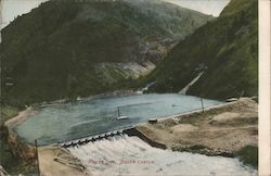 Power Dam Postcard