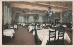 Dining Room, El Garces Hotel