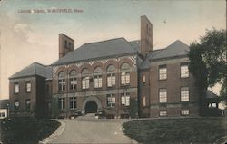 Lincoln School Postcard