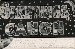 Greetings from Canon Postcard