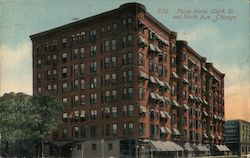 Plaza Hotel, Clark St. and North Ave.