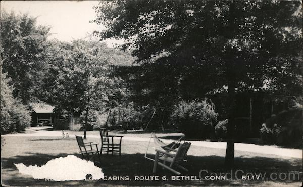 Redwood Log Cabins, Route 6 Bethel Connecticut