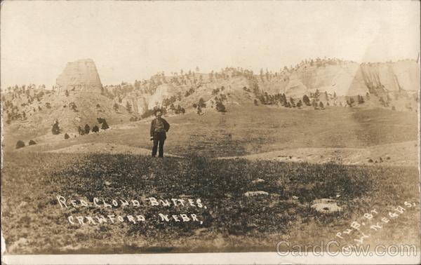 Red Cloud Buttes Crawford Nebraska