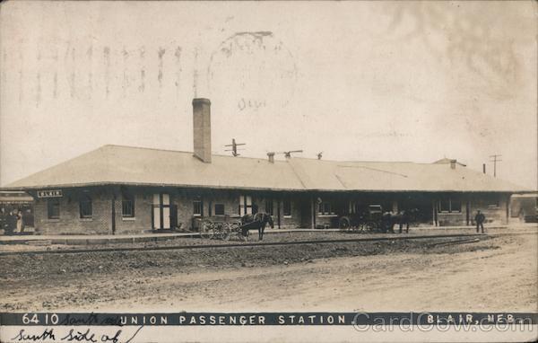 Union Passenger Station Blair Nebraska