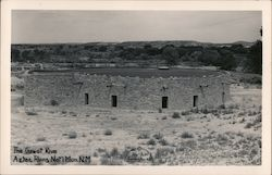 The Great Kiva, Aztec Ruins National Monument Postcard