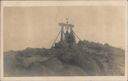 Old Mission Bell On Mount Rubidoux Postcard