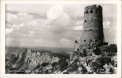 Indian Watchtower Desert View Point, Grand Canyon Postcard