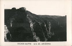 Becker Butte US Route 60 Postcard