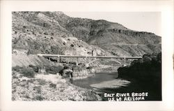 Salt River Bridge US 60 Postcard