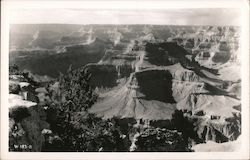 View of the Grand Canyon Postcard