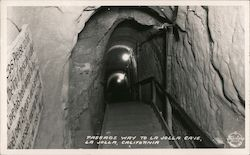 Passage Way to La Jolla Cave Postcard
