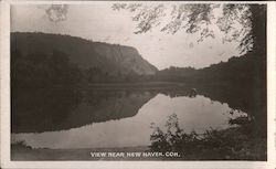 View Near New Haven Postcard