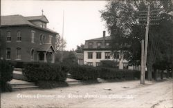 Catholic Convent and School Postcard