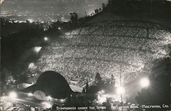Symphonies Under the Stars - Hollywood Bowl Postcard