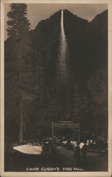 Camp Curry'S Fire Fall, Yosemeti National Park