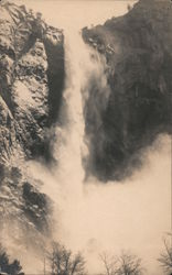 Magnificent falls from cliff Postcard
