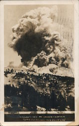 Vulcan's Face, Mt. Lassen Eruption 1915 Postcard