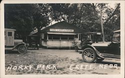 Horkey Park Cafe and Store Postcard