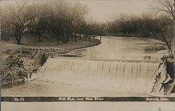Mill Dam over Blue River