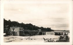 Power Plant and Dam on Niobrara River Postcard