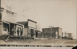Main Street Looking East. Murray, Neb. 1909 Postcard