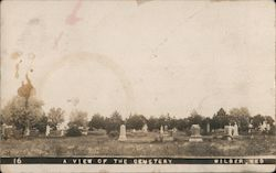 A View of the Cemetery Postcard