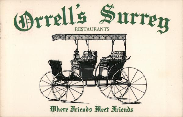 Orrell's Surrey Restaurants - Where friends meet friends