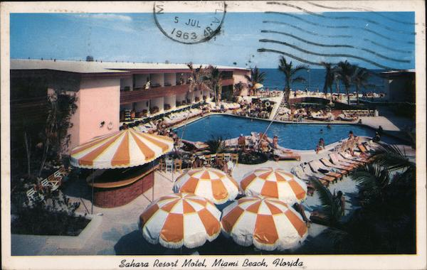 Sahara Resort Motel Miami Beach Florida