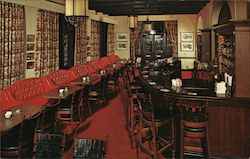 The Meridian Bar, Pickwick Arms Hotel Postcard