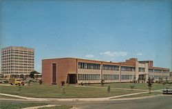 Norfolk Public Health Building Postcard