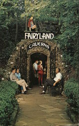 Fairyland Caverns Postcard
