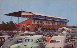 Arlington Downs Amusement Center Postcard