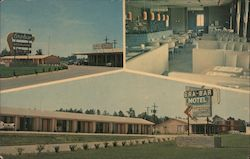 Gra-Bar Motel Postcard