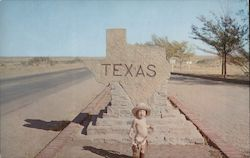 Texas Welcome Marker