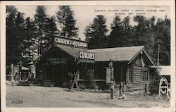 Carter's 40-Acre Lodge and Indian Trading Post Postcard