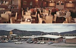 Sands Manor Motel & Restaurant Postcard