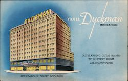 Hotel Dyckman - Minneapolis' Finest Location - Outstanding guest rooms TV in every room air conditioned