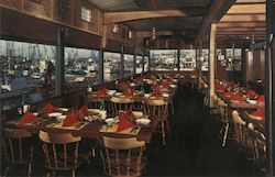 Windjammer Restaurant Postcard