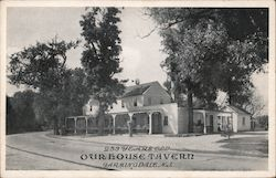 Our House Tavern - 253 Years Old Postcard