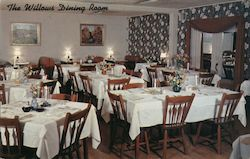 The Willows Dining Room - The Willows Hotel Restaurant & Cottages Postcard