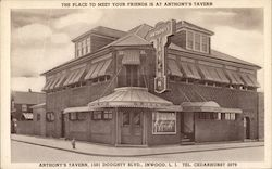 The place to meet your friends is at Anthonys Tavern-1501 Doughty Blvd Postcard