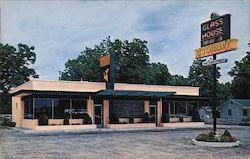 Glass House Restaurants Postcard