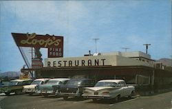 Loop's Restaurant / Motor Lodge Postcard