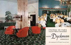 Chateau de Paris-Famous French Restaurant-Hotel Dyckman-Minneapolis' Finest Location