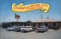 Greetings from Holiday Grill