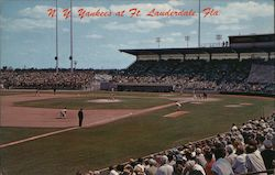 N.Y. Yankees at Ft. Lauderdale, Fla. Postcard