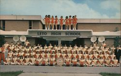 Leto Falcon Band Postcard
