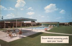 Grant Motel swimming pools open year 'round